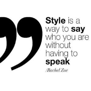 style is - rachel zoe