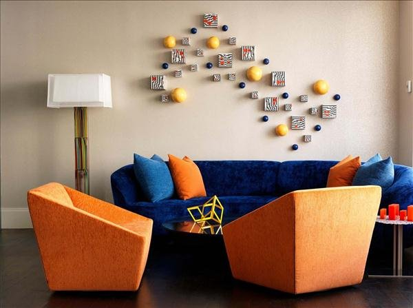 Analogous Colors Analogous color scheme is three colors that are side by  side on the color  Contemporary Interiors a Popular Choice for  Complementary ...