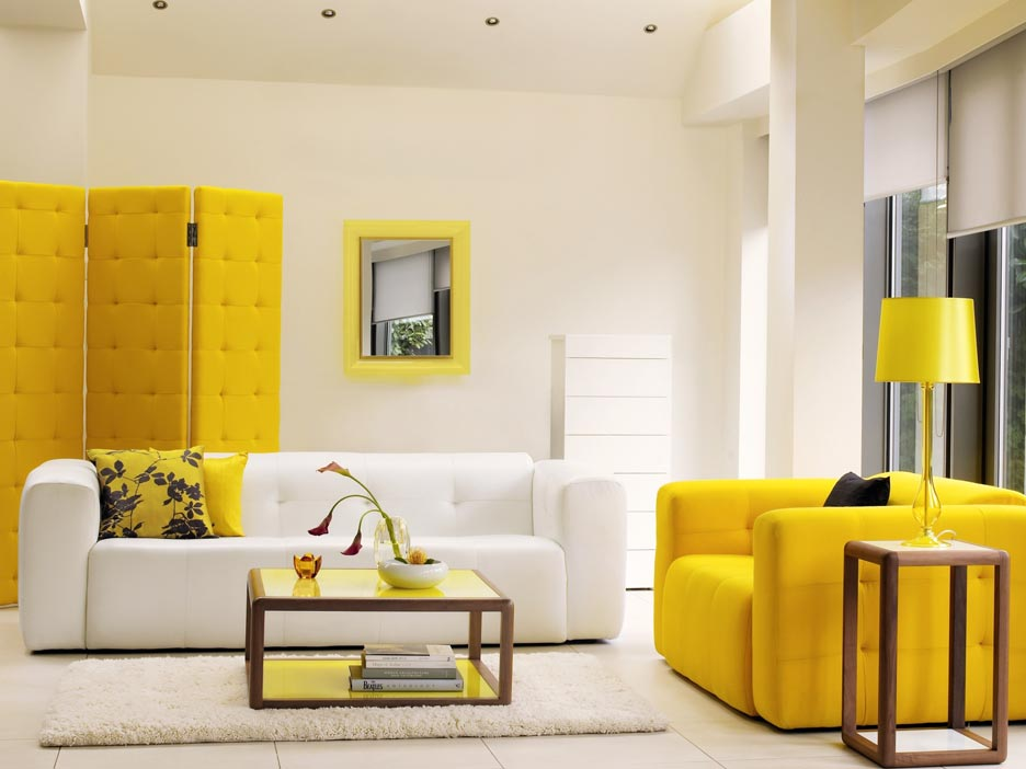 9 Yellow Living Room Furniture