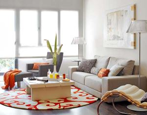 Cozy-Orange-624-Square-Foot-Loft-1
