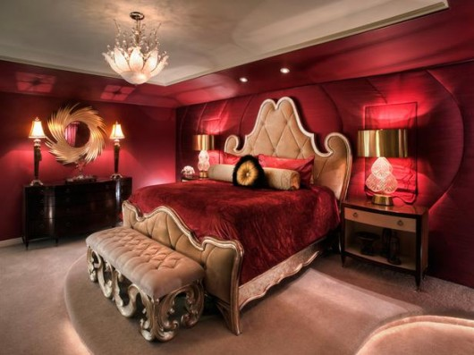 Lovely Dark Red Bedrooms Interesting Dark Red Bedrooms Bedroom Walls Ideas On  Pinterest