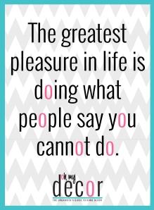 quote greatest pleasure