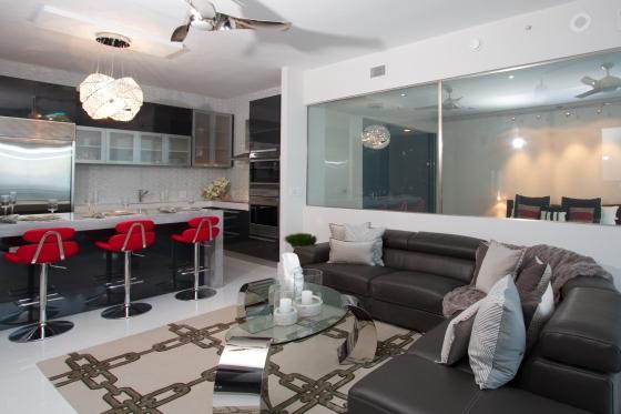 living room & kitchen 2